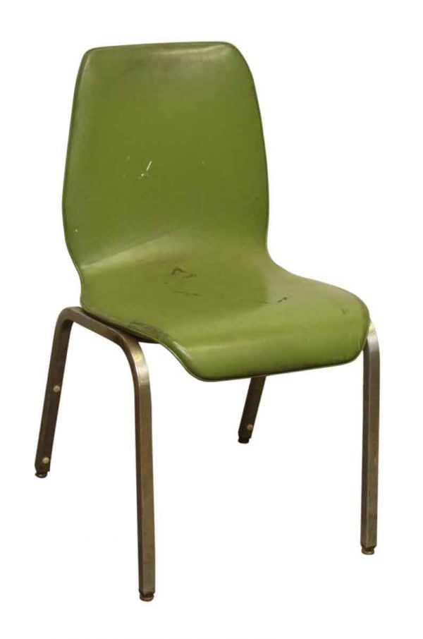 Vintage Green Chair - Seating