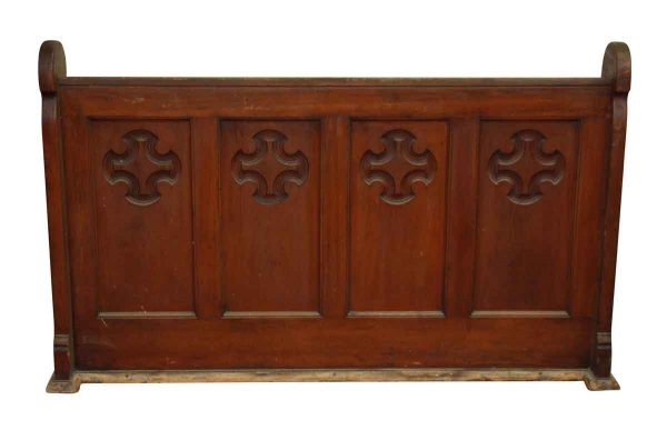 Ornate Carved Wood Divider - Religious Antiques