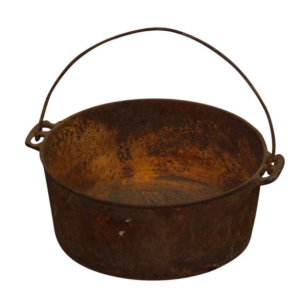 Cast Iron Cooking Pot with Big Handle - Kitchen