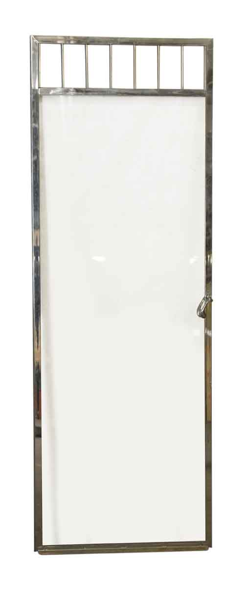 Vintage Glass & Chrome Bathroom Door - Specialty Doors