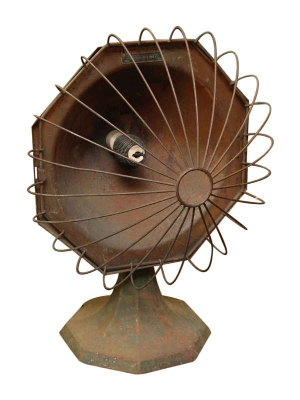 Antique Space Heater - Heating Elements