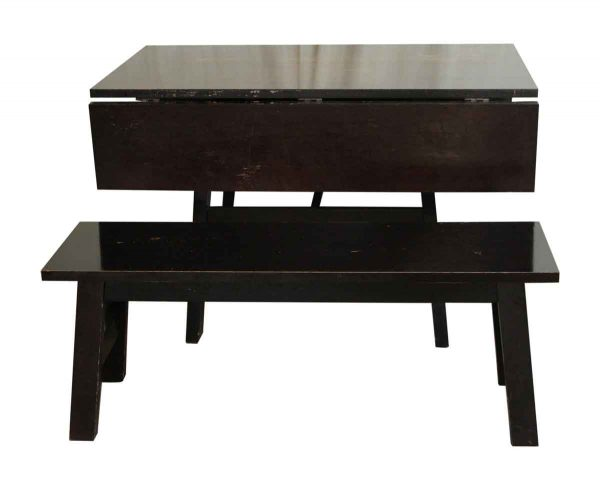 Drop Leaf Table with Matching Bench - Kitchen & Dining