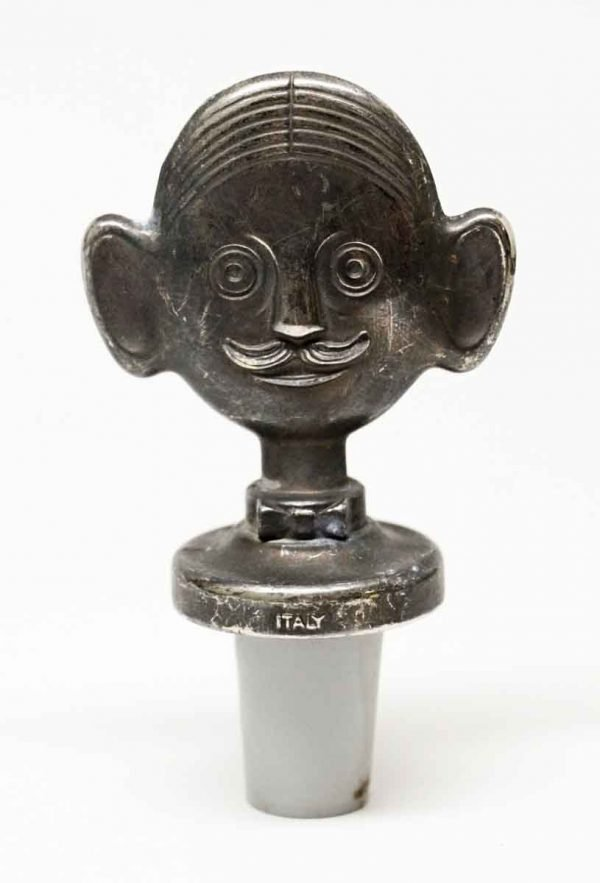 Nickel Figural Stopper - Bottle Stoppers