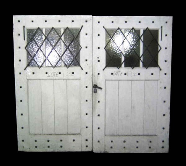 Double Painted Rustic Carriage House Doors - Specialty Doors