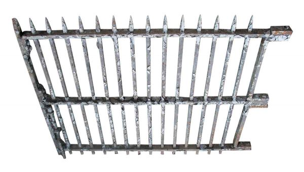 Great Wrought Iron Gates with Spike Finials - Gates