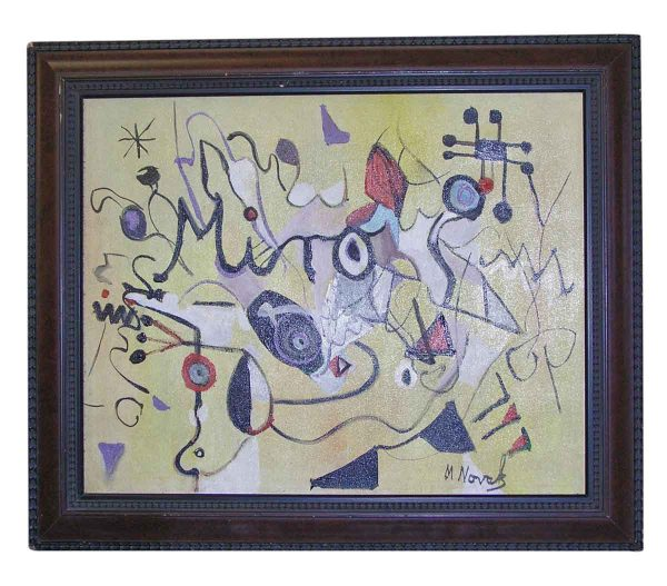 Original Abstract Painting by Mladen Novak - Paintings