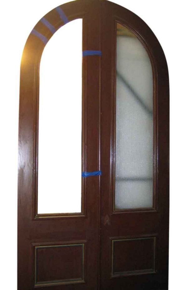 Great Pair of Arched Top Entry Doors - Arched Doors