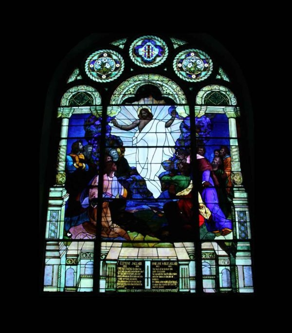 The Ascension of Our Lord Stained Glass Window - Religious Stained Glass