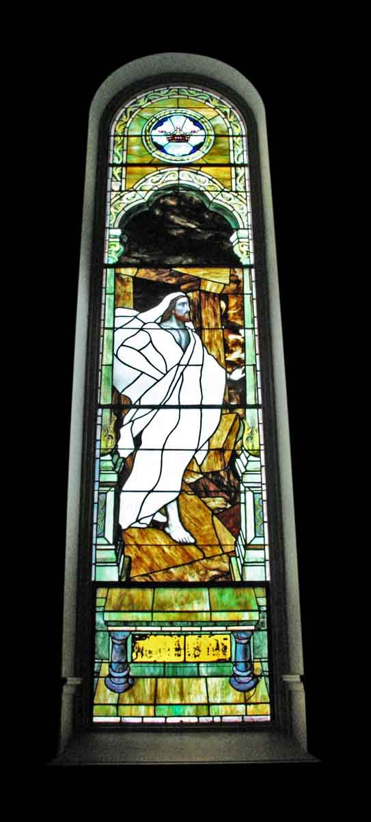 The Resurrection Stained Glass Window - Religious Stained Glass