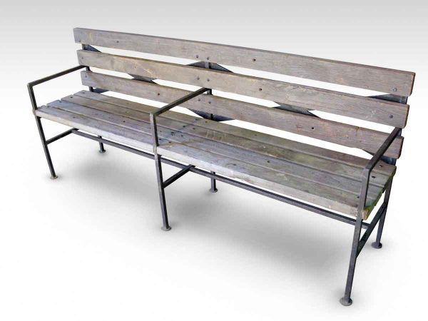 Coney Island Tropical Wood Altered Antique Bench - Altered Antiques