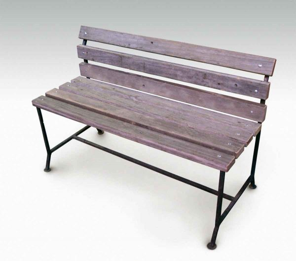 Outdoor Bench from Reclaimed Coney Island Boardwalk Wood - Altered Antiques
