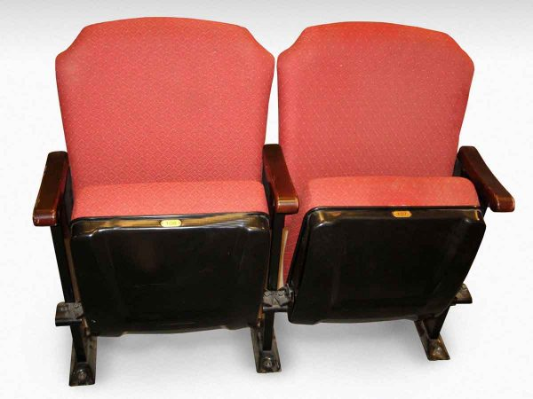 Red Upholstered Theater Seats - Commercial Furniture
