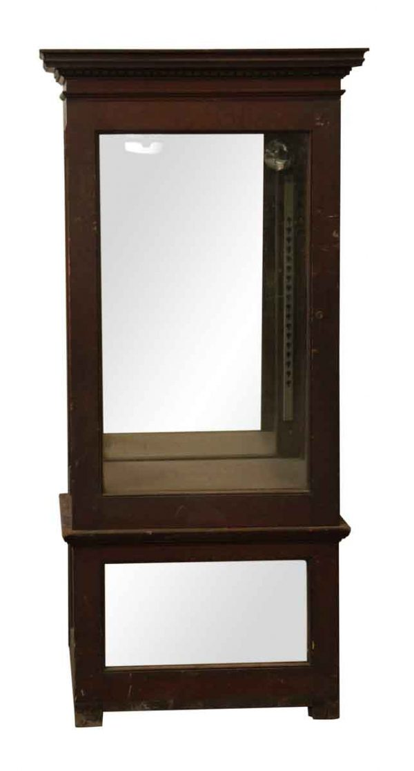 Cabinet with Mirrored Bottom - Cabinets