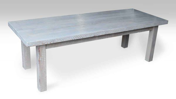 Farm Table with Driftwood Stain