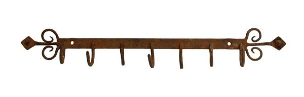 Vintage Imported Wrought Iron Country Rack - Racks