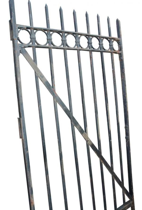 Salvaged Tall Wrought Iron Gate - Gates