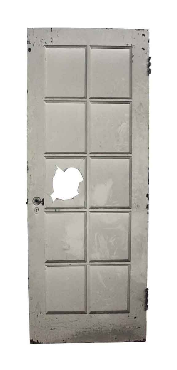 Salvaged 10 Lite French Old Wood Door - French Doors