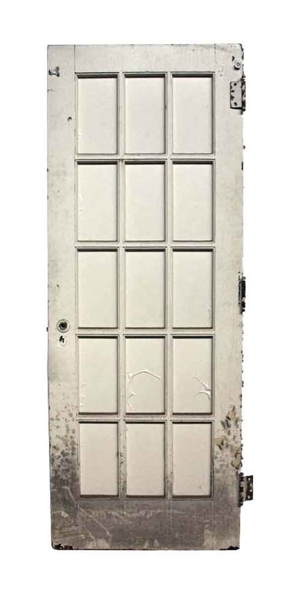 Salvaged Old 15 Lite French Door - French Doors