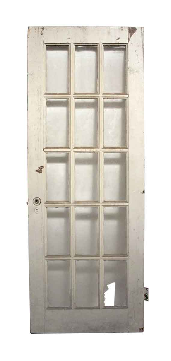 Old Antique 15 Lite French Door - French Doors
