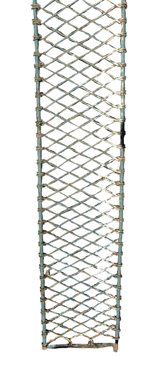 Salvaged Woven Iron for Rack or Shelf - Balconies & Window Guards