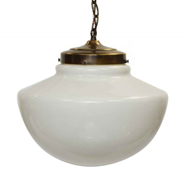 Vintage School House Light with Modern Flair - Globes