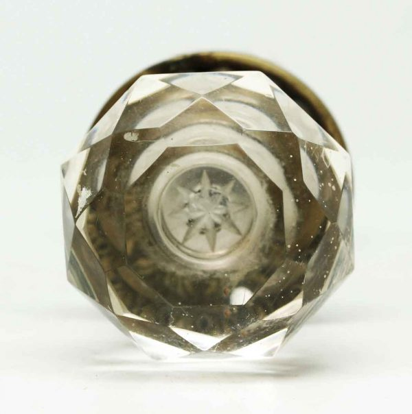 Star Bullet Replica Clear Knob Set with Rosette - Door Knob Sets