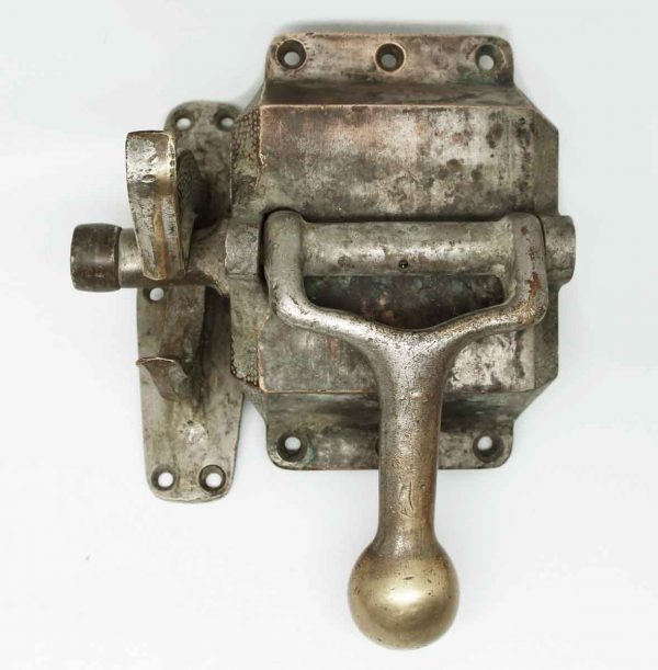 Original Heavy Bronze Commercial Ice Box Latch - Ice Box Hardware