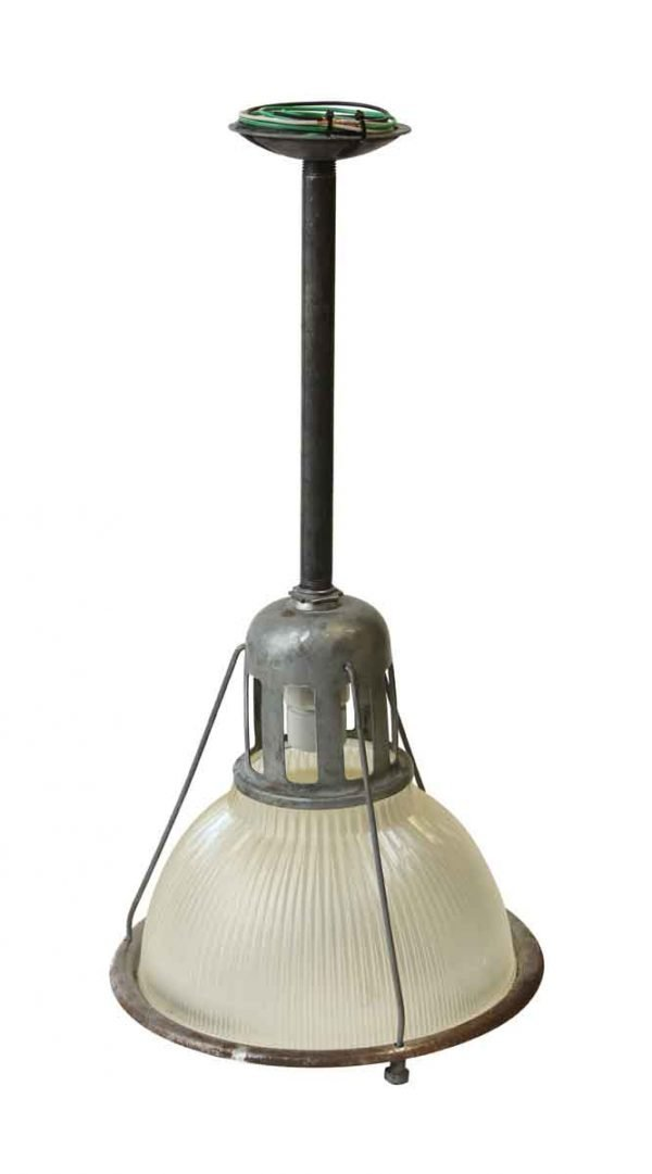 12 in. Industrial Holophane Factory Pendant Light - Industrial & Commercial