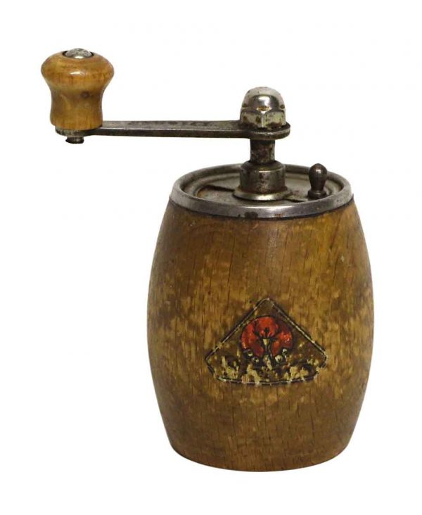 Vintage Pede Small Wooden Pepper Mill - Kitchen