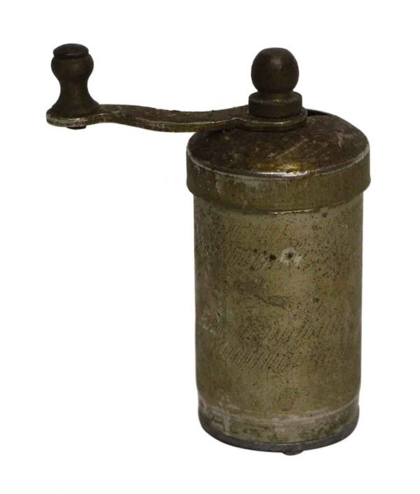 Small Imported Metal Pepper Mill - Kitchen