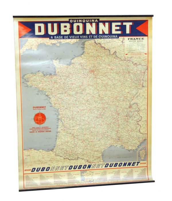 Dubonnet France Paper Map - Globes & Maps