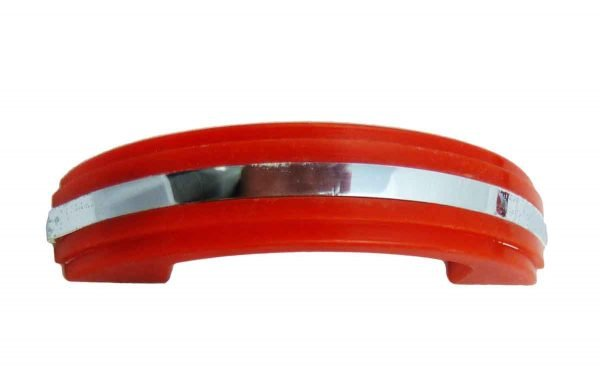 Red Art Deco Plastic Cabinet Drawer Pull - Cabinet & Furniture Pulls