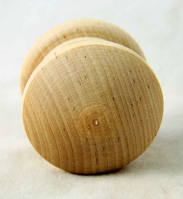 Unfinished Wooden Dresser Knob - Cabinet & Furniture Knobs