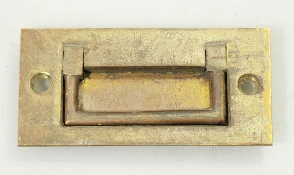 Brass Drawer Recessed Trunk Pull - Cabinet & Furniture Pulls