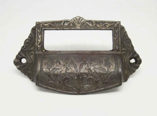 Antique Cast Iron Apothecary Cabinet Pull - Cabinet & Furniture Pulls