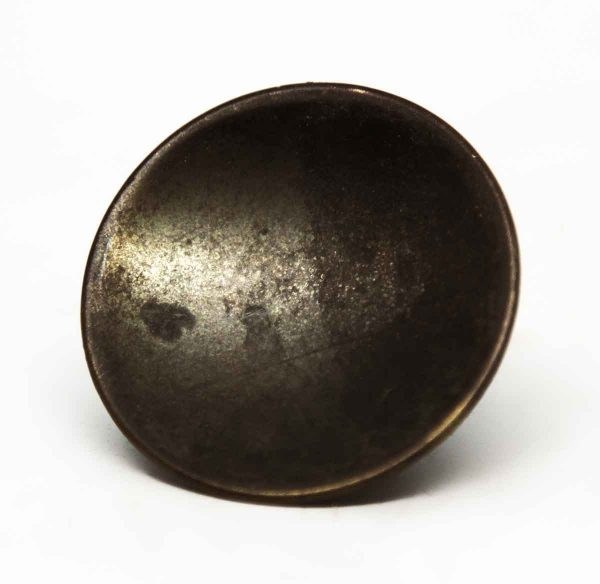 Modern Round Antique Brass Knob - Cabinet & Furniture Knobs