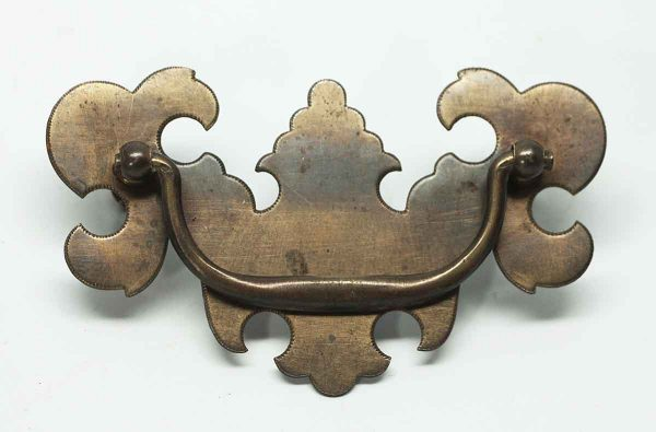 Traditional Chippendale Brass Pull - Cabinet & Furniture Pulls