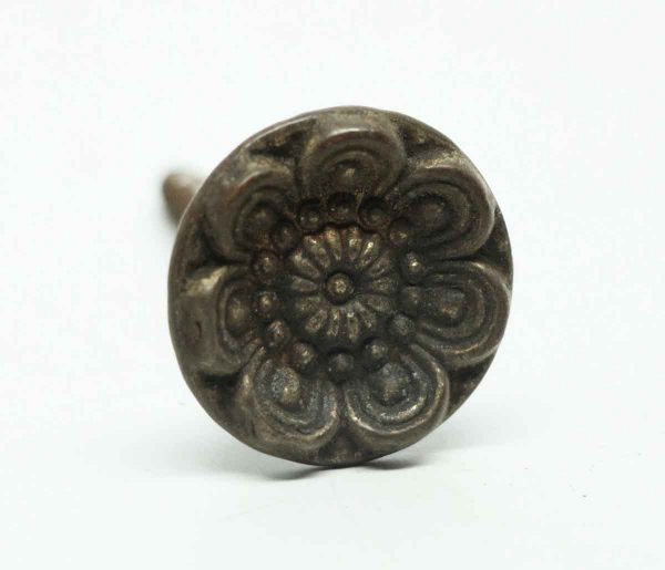 Antique 7-fold Brass Floral Furniture Knob - Cabinet & Furniture Knobs