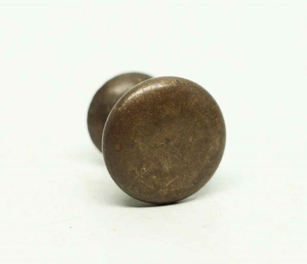 Vintage Round Bronze Drawer Knob - Cabinet & Furniture Knobs