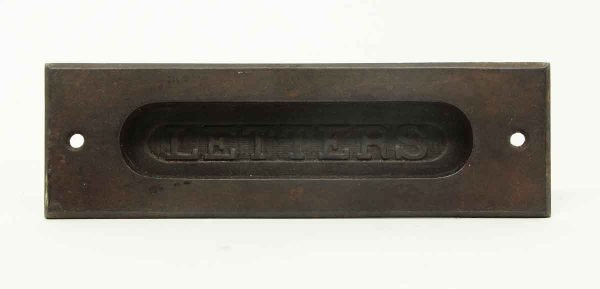 Cast Iron Letter Door Mail Slot - Mail Hardware