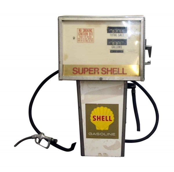 Reclaimed Shell Gas Pump - Car Fronts & Parts