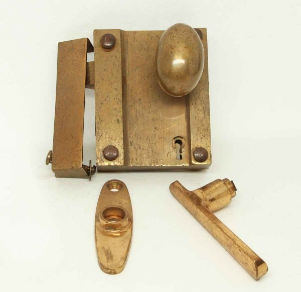 Cast Bronze Vintage Door Set - Door Knob Sets
