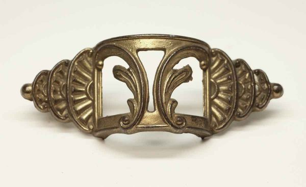 Antique Neoclassical Brass Drawer Pull - Cabinet & Furniture Pulls