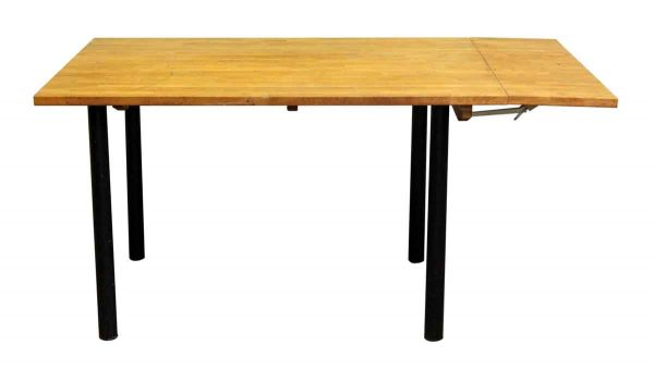 Pine Table with Fold Down Leaf - Office Furniture