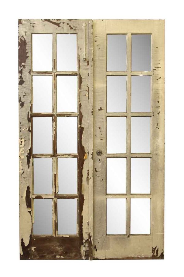 French Doors - Antique French Interior Double Doors