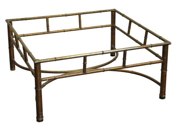 Reclaimed Metal Square Coffee Table Base - Table Bases