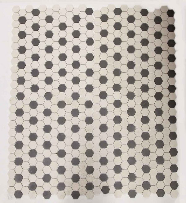 Set of Five Black & White Sheet of Tiles - Floor Tiles
