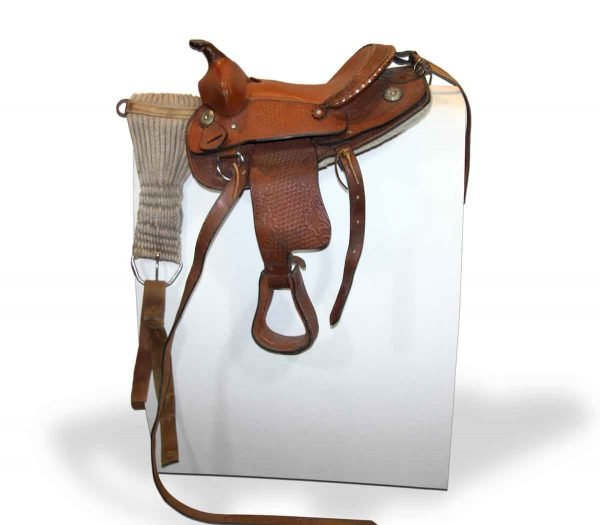 Sporting Goods - Antique Brown Horse Saddle