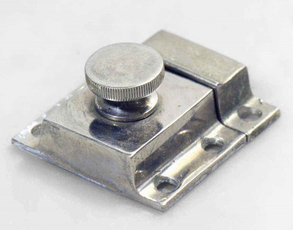 Cabinet & Furniture Latches - Chrome Plated Latch with Round Knob
