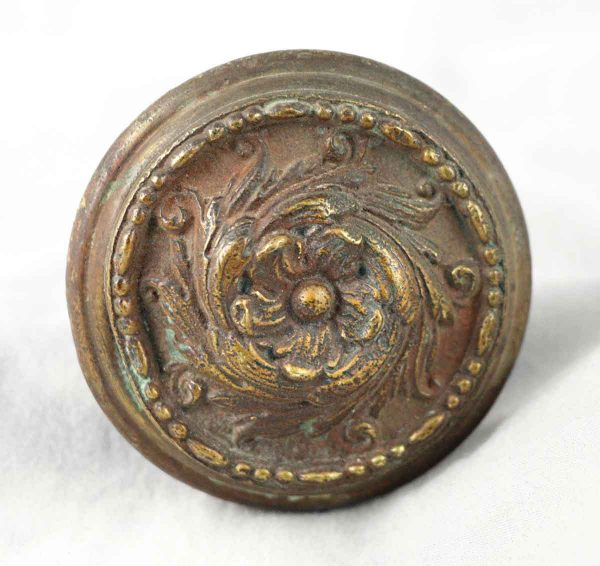 Door Knobs - Antique Barrows Romanesque Bronze Knob